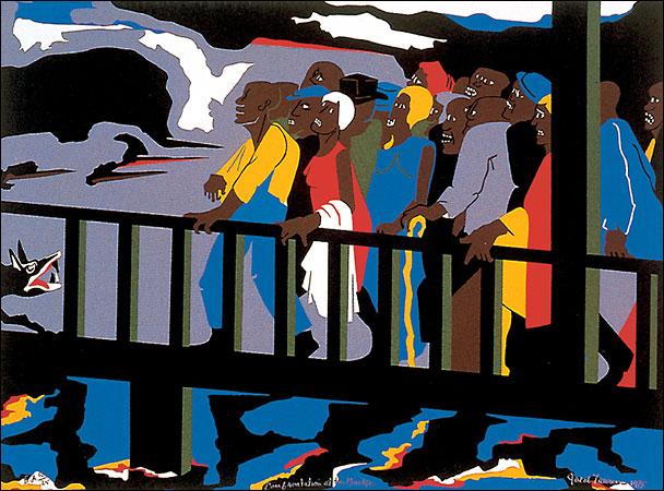 Artist Jacob Lawrence
